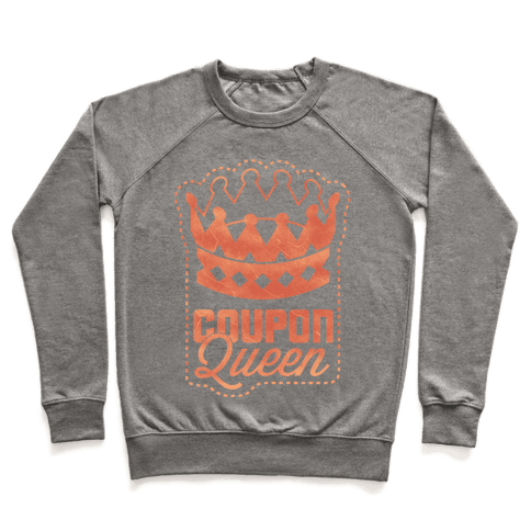 Queen of the Coupons Pullover