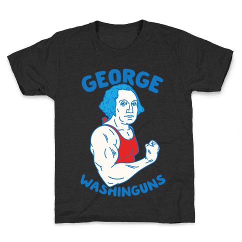 George WashinGUNS Kids T-Shirt