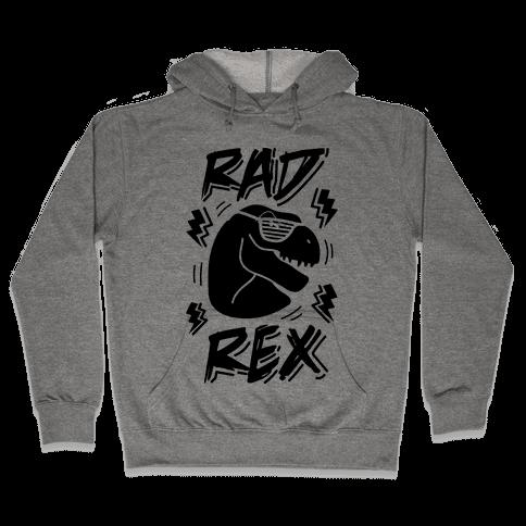 Rad Rex Hooded Sweatshirt