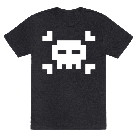 Black Skull Mens T-Shirt