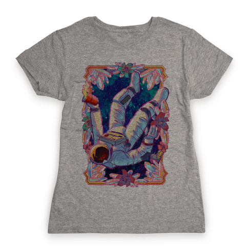 Pastel Space Trip Womens T-Shirt