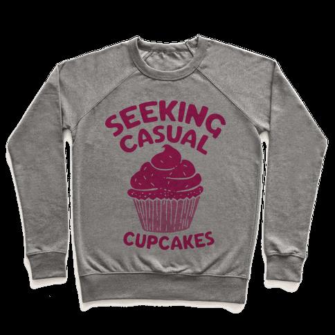 Seeking Casual Cupcakes Pullover