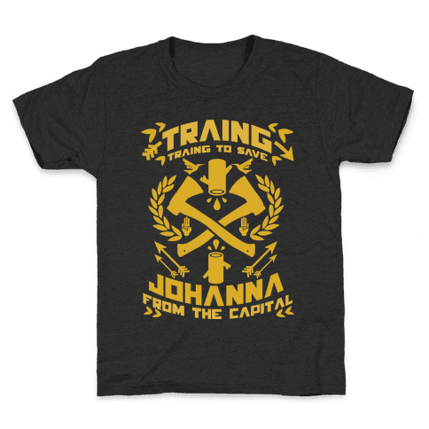 Training to Save Johanna Kids T-Shirt