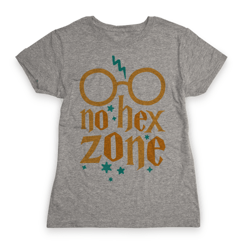 No Hex Zone Womens T-Shirt