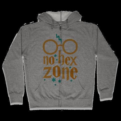 No Hex Zone Zip Hoodie