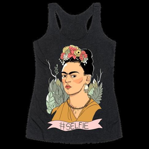 Frida #Selfie Racerback Tank Top