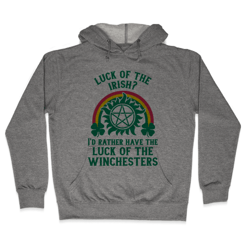 Luck of the Winchesters Hooded Sweatshirt