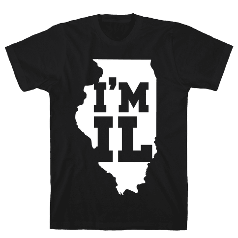 I'm IL Mens T-Shirt