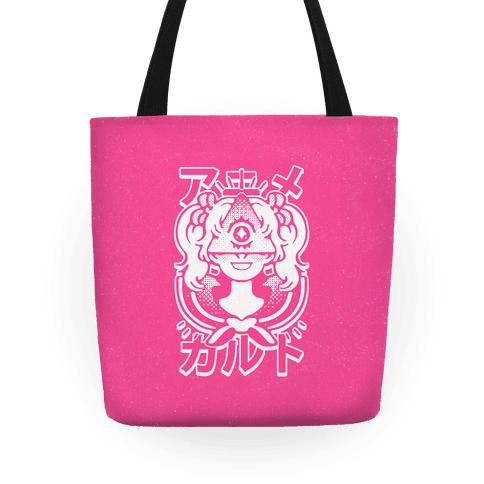 Anime Illuminati Cult Tote