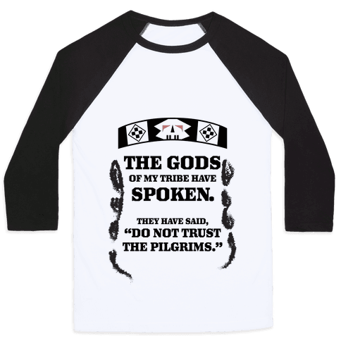 Addams Thanksgiving Baseball Tee