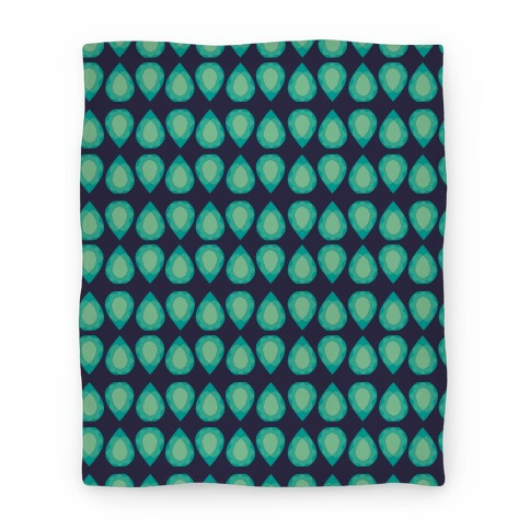 Teardrop Gem Pattern Blanket