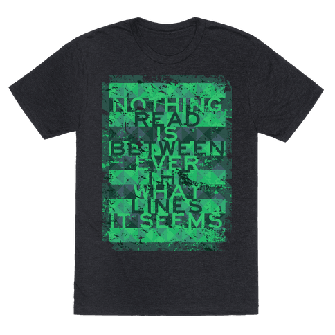 Between the Lines (distressed T)