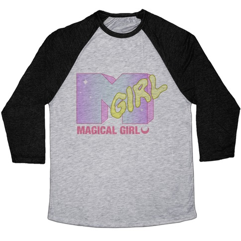 Magical Girl (MTV) Baseball Tee