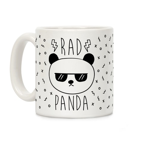 Rad Panda Coffee Mug