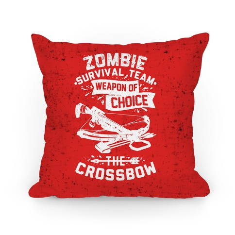 Zombie Survival Team Weapon Of Choice The Crossbow