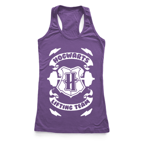 Hogwarts Lifting Team Racerback Tank Top