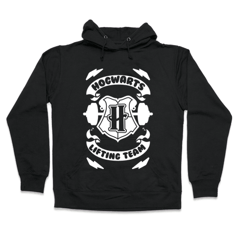 Hogwarts Lifting Team Hooded Sweatshirt