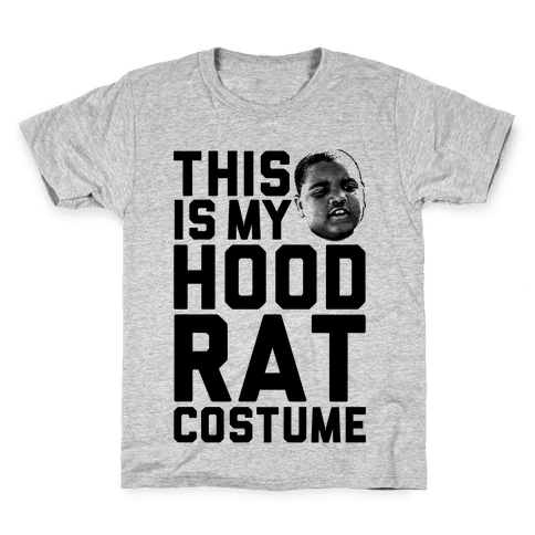 This Is My Hoodrat Costume Kids T-Shirt