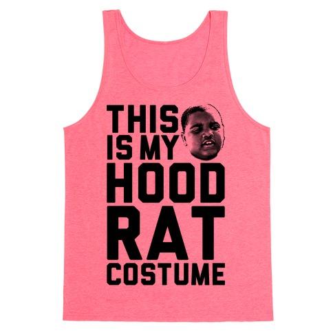 This Is My Hoodrat Costume Tank Top