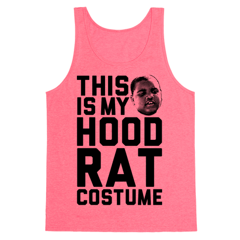 This Is My Hoodrat Costume Tank Top