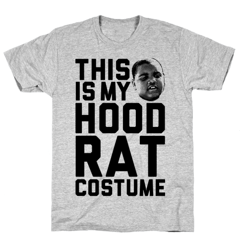 This Is My Hoodrat Costume Mens T-Shirt