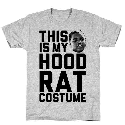 This Is My Hoodrat Costume T-Shirt