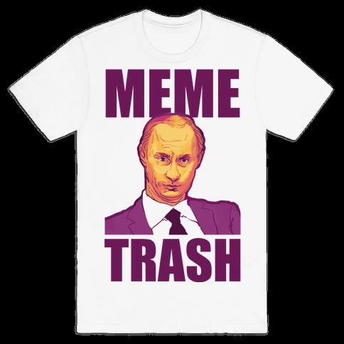 Meme Trash Vladimir Putin Mens T-Shirt