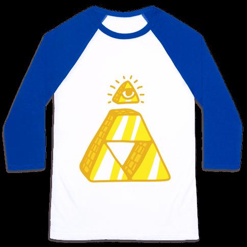 Illuminati Triforce Baseball Tee