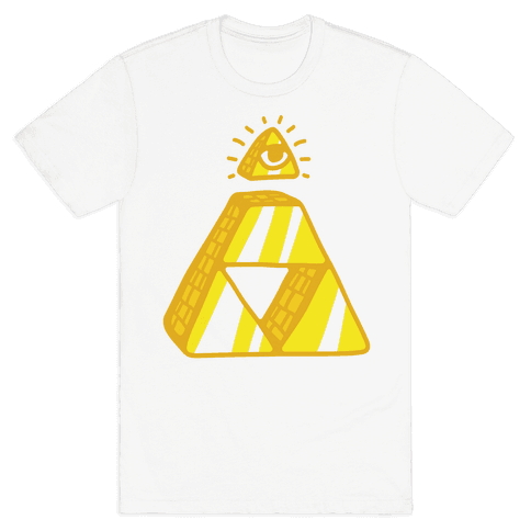 Illuminati Triforce Mens T-Shirt