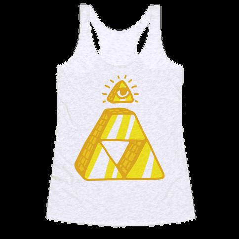 Illuminati Triforce Racerback Tank Top