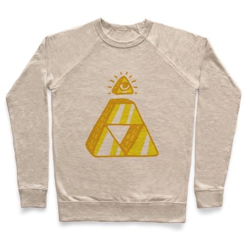Illuminati Triforce Pullover