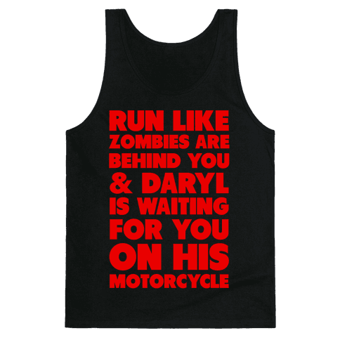 Run Like Daryl is Waiting Tank Top