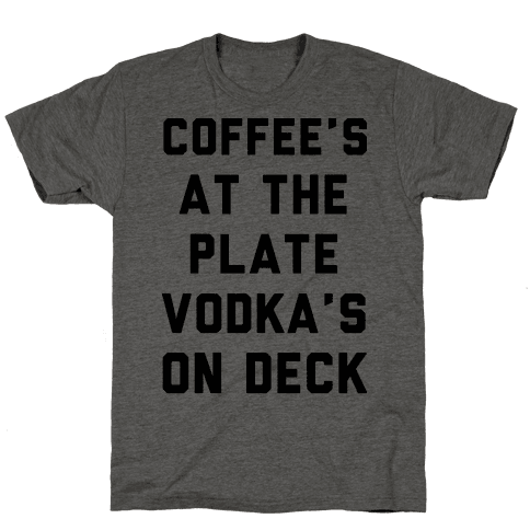 Coffees At The Plate Vodka's On Dec