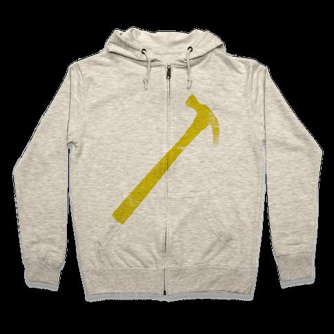 Yellow Hammer Zip Hoodie