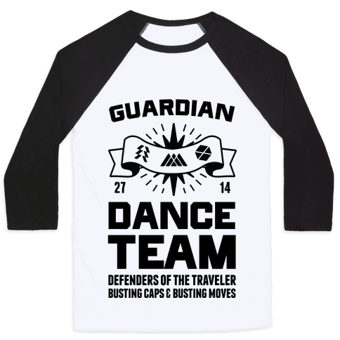Guardian Dance Team Baseball Tee