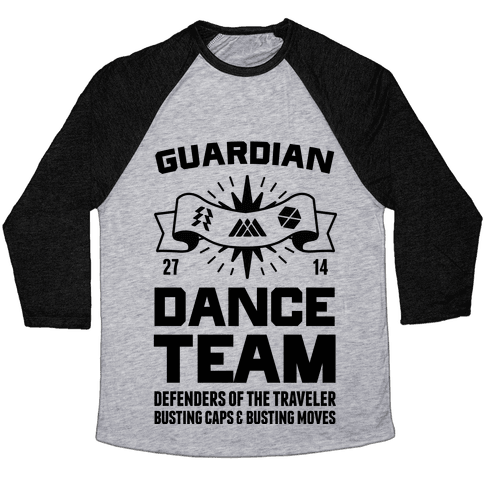 Guardian Dance Team Baseball Tee