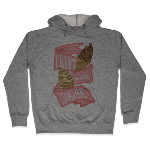Cream And Sugar Hooded Sweatshirt