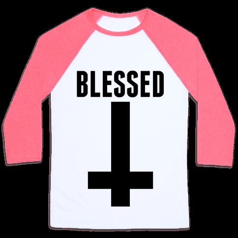 Blessed Baseball Tee