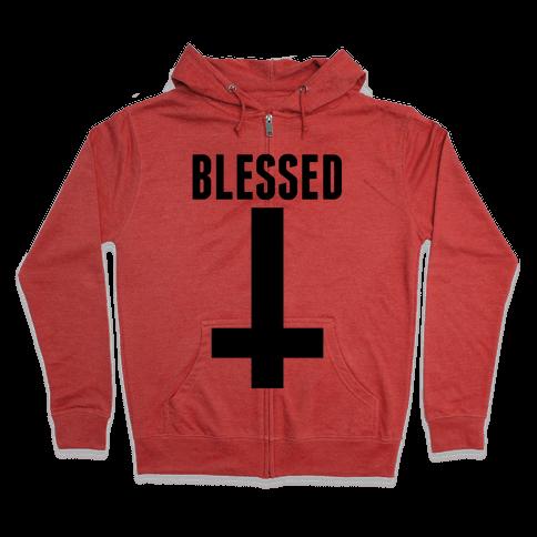Blessed Zip Hoodie