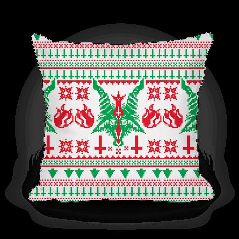 Baphomet Christmas Pattern