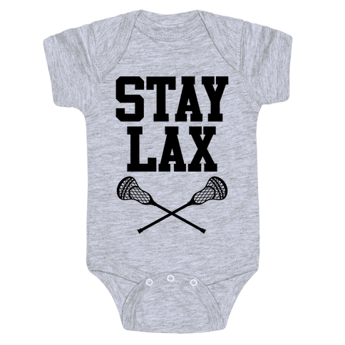 Stay Lax Baby Onesy
