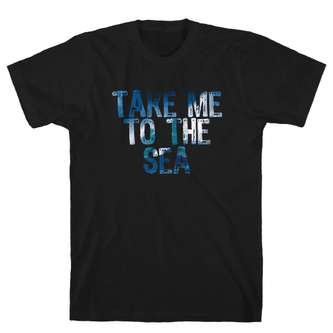 To the Sea Mens T-Shirt