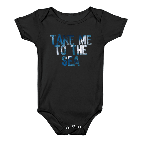 To the Sea Baby Onesy