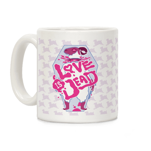 Love Is Dead Coffee Mug