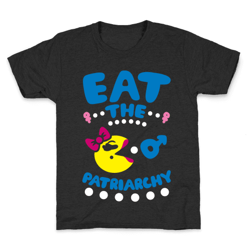 Eat The Patriarchy Kids T-Shirt