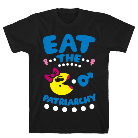 Eat The Patriarchy Mens T-Shirt