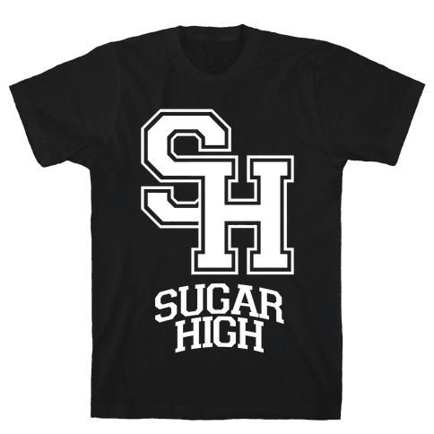 Sugar High Mens T-Shirt