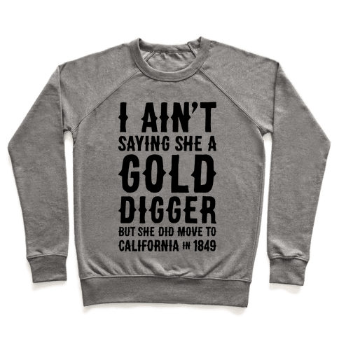 Gold Digger Pullover
