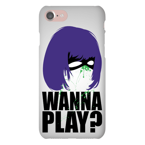 Wanna Play? Phone Case
