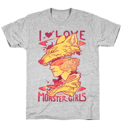 I Love Monster Girls T-Shirt